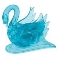 BePuzzled® 43-Piece Swan 3D Crystal Puzzle in Blue