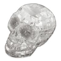 BePuzzled® 48-Piece Clear Skull 3D Crystal Puzzle