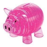 93-Piece 3D Piggy Bank Crystal Puzzle