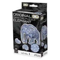 40-Piece 3D Elephant Crystal Puzzle