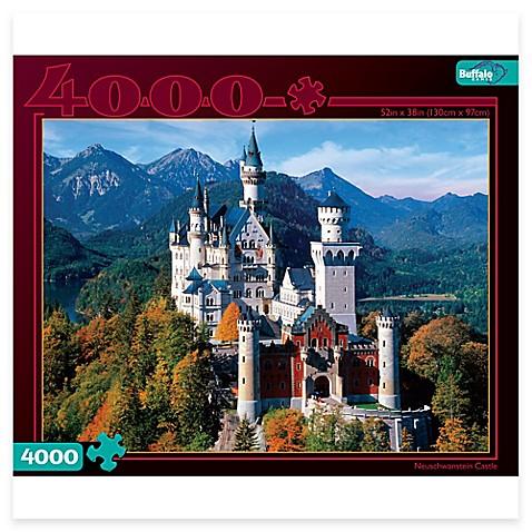 ravensburger 4000 piece neuschwanstein castle puzzle bed bath beyond. Black Bedroom Furniture Sets. Home Design Ideas
