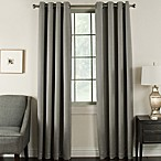 Brinkley 84-Inch Grommet Top Room Darkening Window Curtain Panel in Flint