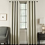 Brinkley 108-Inch Grommet Top Room Darkening Window Curtain Panel in Ivory