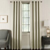 Brinkley 84-Inch Grommet Top Room Darkening Window Curtain Panel in Ivory