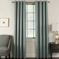 Brinkley 95-Inch Grommet Top Room Darkening Window Curtain Panel in Slate