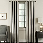 Brinkley 108-Inch Grommet Top Room Darkening Window Curtain Panel in Taupe