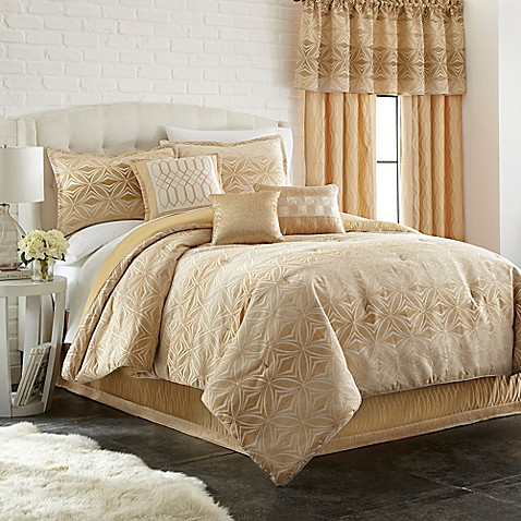 Ecliptic 7 piece comforter set bed bath beyond - Bed bath and beyond bedroom furniture ...