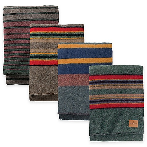 Pendleton Hemrich Stripe Camp Blanket Bed Bath Beyond