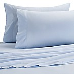 Brushed Twill Queen Sheet Set in Light Blue