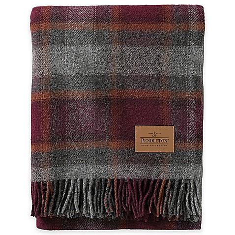 Pendleton® Wool Carry Along Motor Robe Throw Blanket in ...