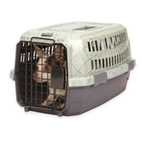 Dog is Good® Small Never Travel Alone Small Dog Crate