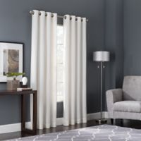 Bianca 84-Inch Window Curtain Panel in White