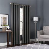 Bianca 95-Inch Window Curtain Panel in Grey