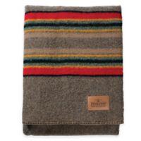 Pendleton® Hemrich Stripe Camp Twin Blanket in Mineral