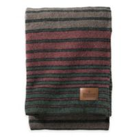 Pendleton® Hemrich Stripe Camp Full/Queen Blanket in Grey/Red