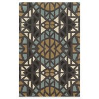 Rizzy Home Bradberry Downs Mosaic Tile 8-Foot x 10-Foot Area Rug in Grey/Blue