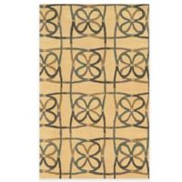 Rizzy Home Bradberry Downs Scribble 8-Foot x 10-Foot Area Rug in Natural
