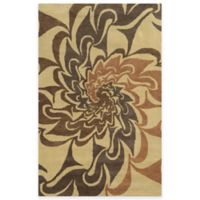 Rizzy Home Bradberry Downs Swirl 8-Foot x 10-Foot Area Rug in Grey