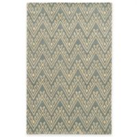 Rizzy Home Bradberry Downs Chevron 2-Foot x 3-Foot Accent Rug in Light Grey
