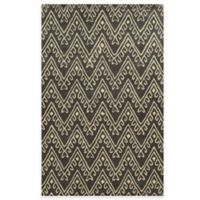 Rizzy Home Bradberry Downs Chevron 8-Foot x 10-Foot Area Rug in Dark Grey