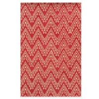 Rizzy Home Bradberry Downs Chevron 8-Foot x 10-Foot Area Rug in Hot Pink