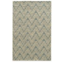 Rizzy Home Bradberry Downs Chevron 8-Foot x 10-Foot Area Rug in Light Grey