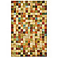 Petra Squares 3-Foot 5-Inch x 5-Foot-5-Inch Accent Rug