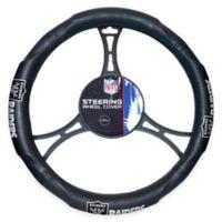 NFL Oakland Raiders Steering Wheel Cover