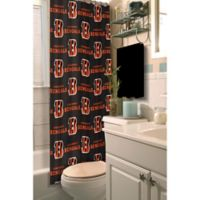 NFL Cincinnati Bengals Shower Curtain