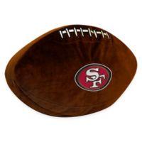 NFL San Francisco 49ers 3D Football Plush Pillow