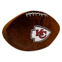 NFL Kansas City Chiefs 3D Football Plush Pillow