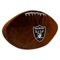 NFL Oakland Raiders 3D Football Plush Pillow