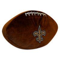NFL New Orleans Saints 3D Football Plush Pillow