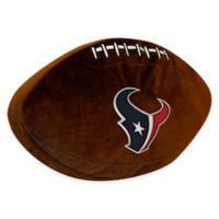 NFL Houston Texans 3D Football Plush Pillow