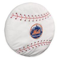 MLB New York Mets 3D Baseball Plush Pillow