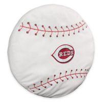 MLB Cincinnati Reds 3D Baseball Plush Pillow