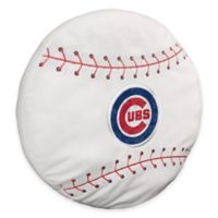 MLB Chicago Cubs 3D Baseball Plush Pillow
