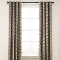 Anello 63-Inch Grommet Top Window Curtain Panel in Grey