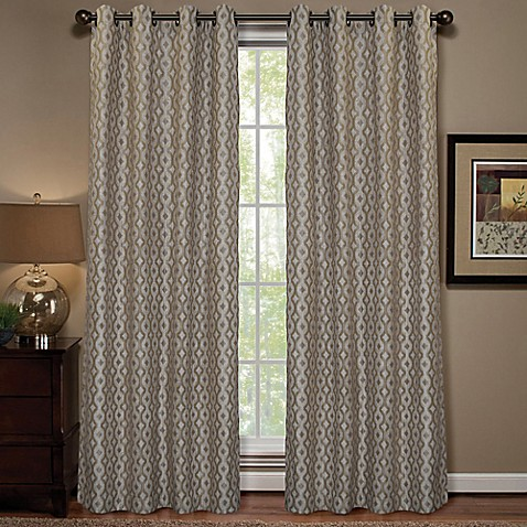 Anello Grommet Top Window Curtain Panel Bed Bath Amp Beyond