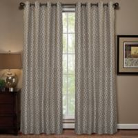 Anello 84-Inch Grommet Top Window Curtain Panel in Ivory