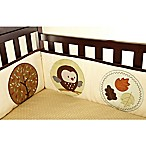 carter's® Friends 4-Piece Secure-Me Padded Crib Bumper Set