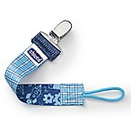 Chicco® NaturalFit™ Fashion Pacifier Clip in Blue Gingham