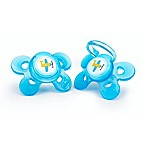 Chicco® NaturalFit® Comfort 4M 2-Pack Orthodontic Pacifiers in Blue