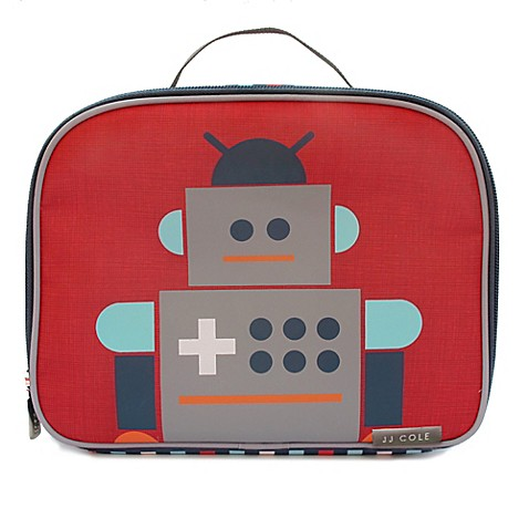 Buy jj cole robot toddler insulated lunch bag from bed for Decor containers coles