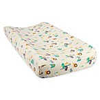 Trend Lab® Lullaby Jungle  Deluxe Flannel Changing Pad Cover