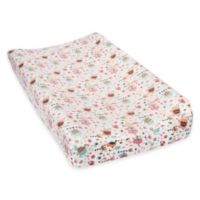 Trend Lab® Playful Elephants Deluxe Flannel Changing Pad Cover