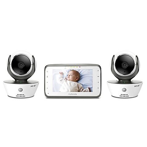 motorola mbp854connect 2 digital video baby monitor buybuy baby. Black Bedroom Furniture Sets. Home Design Ideas