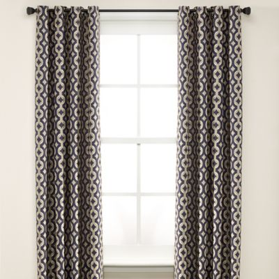 Buy Navy Curtains From Bed Bath Beyond