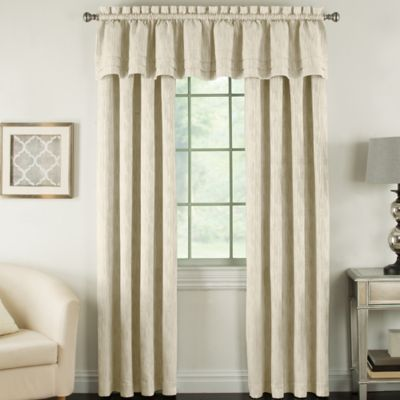 buy cotton window curtains valances from bed bath & beyond