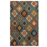 Rizzy Home Bradberry Downs Mod Trellis 8-Foot x 10-Foot Area Rug in Grey